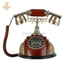 best selling products detail decoration item old model ancient telephone