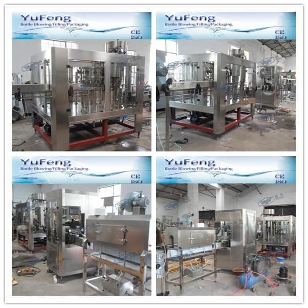 Carbonted beverage automatic soft drink filling machine