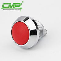 CMP 12mm metal waterproof ip67 push button switch (TUV CE SGS)