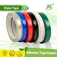 color high temperature mylar insulation tape with self adhesive