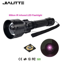 Jialitte F068 IR 50mm Lens Infrared Flashlight Night Vision Torch Light for Night Vision Device