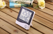 HTC-1 Large LCD Display Digital Indoor Thermometer Multi Thermometer For Testing Humidity and Temperature