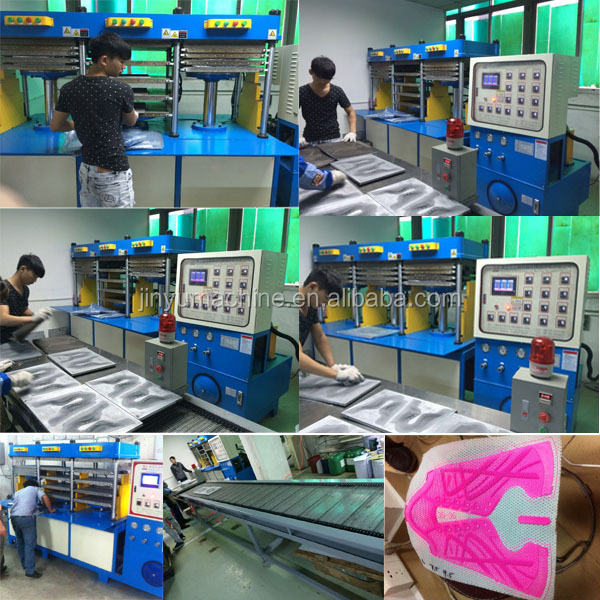 top grade fashionable sports shoes upper cover making machine