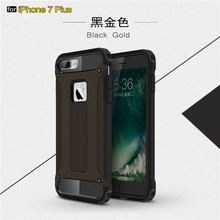 TPU+PC Hard Smartphone Back Case Cover for iphone 7 plus Armor Mobile Case