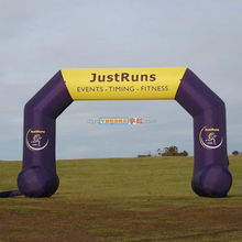 oxford advertising inflatable marathon event arch with air blower