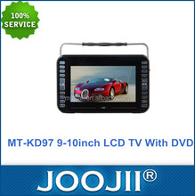 Newest 9-10 inch digital LCD screen display mini LCD TV portable with DVD