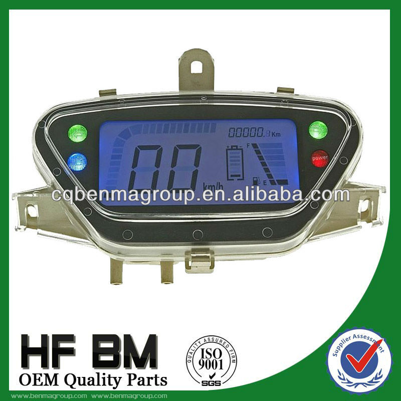 Electric scooter digital speedometer ,High Quality scooter lcd digital speedometer