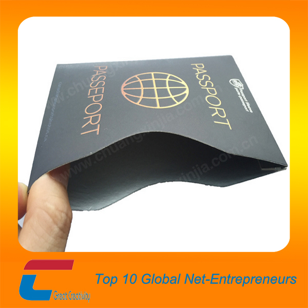 Hot selling rfid blocking card sleeve oem free logo design