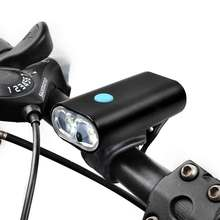 logo custom bicycle accessories IP65 best classic USB front led bike light