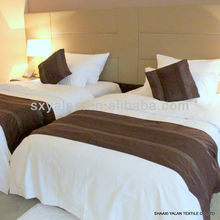 luxury hotel bedding linen supplies(sheets,bed cover,duvet,pillow etc)
