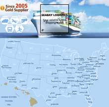 Sea Freight Cargo Consolidation Shipping to San Antonio, TX, US
