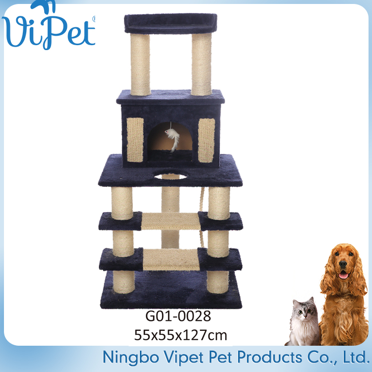 High-end Pet Products and Cats Application Cat Tree Condo