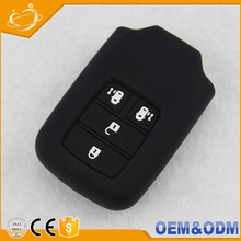 2015 High Quality Silicone Smart Remote Key Case Cover Holder For Honda Odyssey