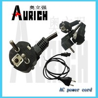 power cords,salt lamp VDE plug AC power cord,flat iron power cord for hair dryer