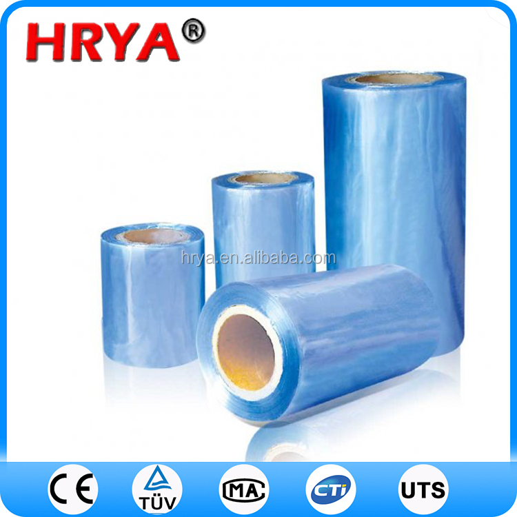 Plastic transparent pvc polyolefin shrink film high quality