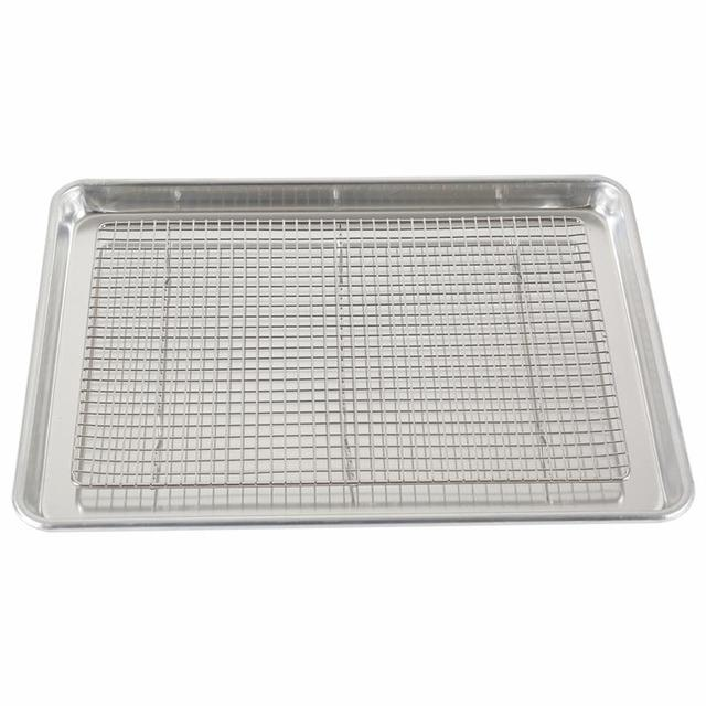 Stainless Steel Regular Screw Mouth teflon baking full sheet pan with Great Price