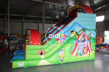 2016 most popular inflatable slides playground With Long-term Service