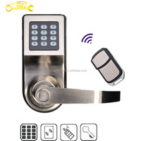 Apartment use security keypad electronic remote control smart door lock