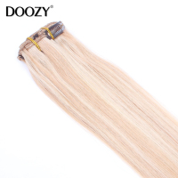 factory price high end bohemian remy clip in human hair extension