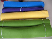 100% colored needled polyester felt fabric 0.5-50mm for craft