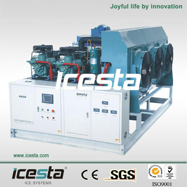 CE certification Flake ice maker 10 ton seawater ice Plant ice pellet