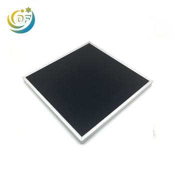 Charcoal filter activated carbon water air purifier with washable custom filters ti02 true hepa