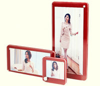 Clear crystal acrylic magnetic photo frame