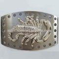40 MM R-0433-6 Hot sale fashion metal Nickel free Wholesale western buckle with scorpion
