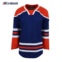 Reversible Sublimation Ice Hockey Jerseys China /Ice Hockey Wear Custom Half and Half Jersey
