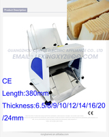 Electric slicing machine baking equipment, commercial bread blades slicer, bakery electric bakery cutter hot sale