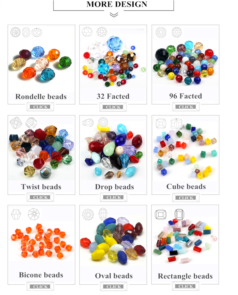 Yiwu crystal beads pujiang 2-20mm faceted crystal rondelle glass beads factory