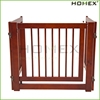 Large folding pet dog fence with wood frame Homex_BSCI Factory