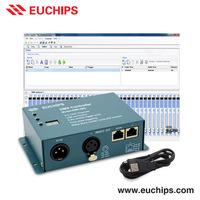 Free software led shanghai 5-5.5vdc usb rgb 512 dmx controller