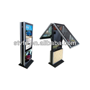 "46"" floor stand digital advertising display, Android OS"