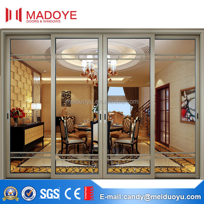 Multi-function popular aluminium glass sliding patio doors prices