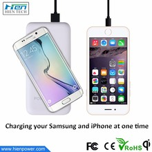 12000mAh universal qi charger power bank wireless charger for huawei honor 4x htc desire 626
