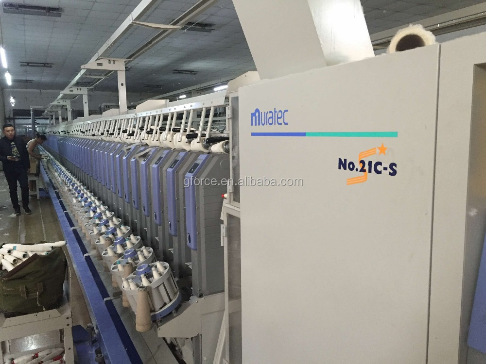 Used muratec 21C autoconer textile machinery for sale