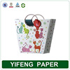 Fashion White Paper Shopping Bags Design with Handle