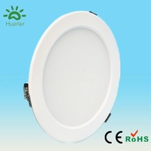new white led downlight with 150mm cut out 100-240v 110v 220v smd5730 15w round glass downlight cover
