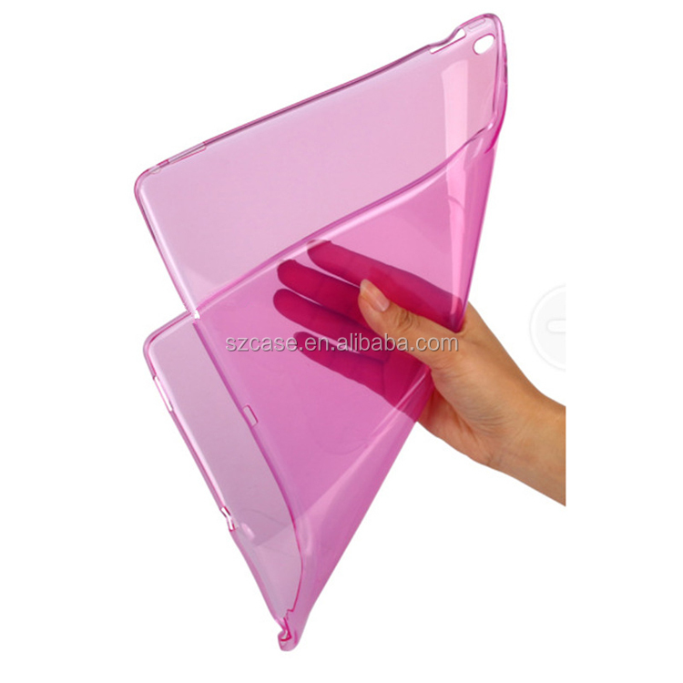 High Clear Transparent Soft TPU Back Cover Case for Ipad Pro 12.9""