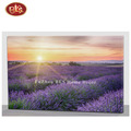 Beautiful Flicking Lavender Wooden Canvas Wall Art  for Home  Decoration
