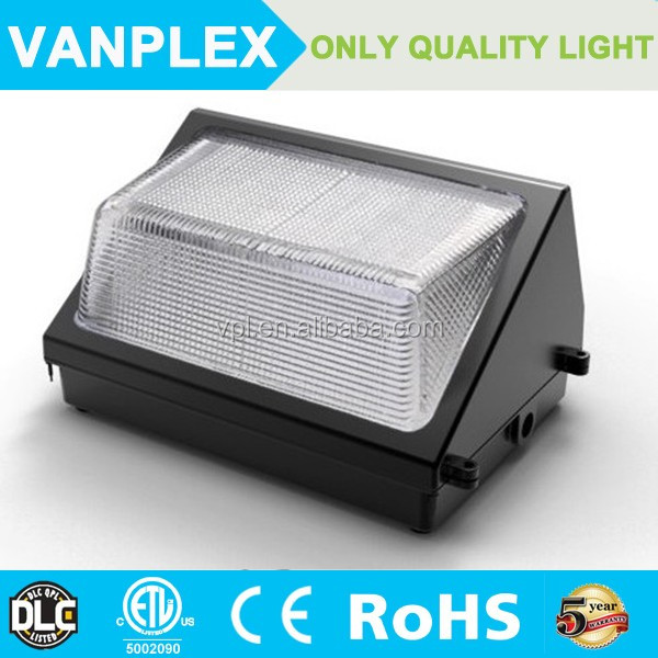 ETL DLC listed Vanplex 12000LM 100W dlc led wall pack
