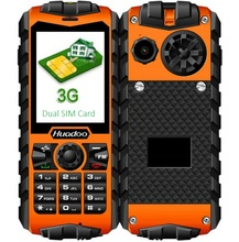 2017 Huadoo H3 Unlocked Quad band GSM phone IP68 Waterproof phone military Outdoor Rugged 3G Feature phone for Old man