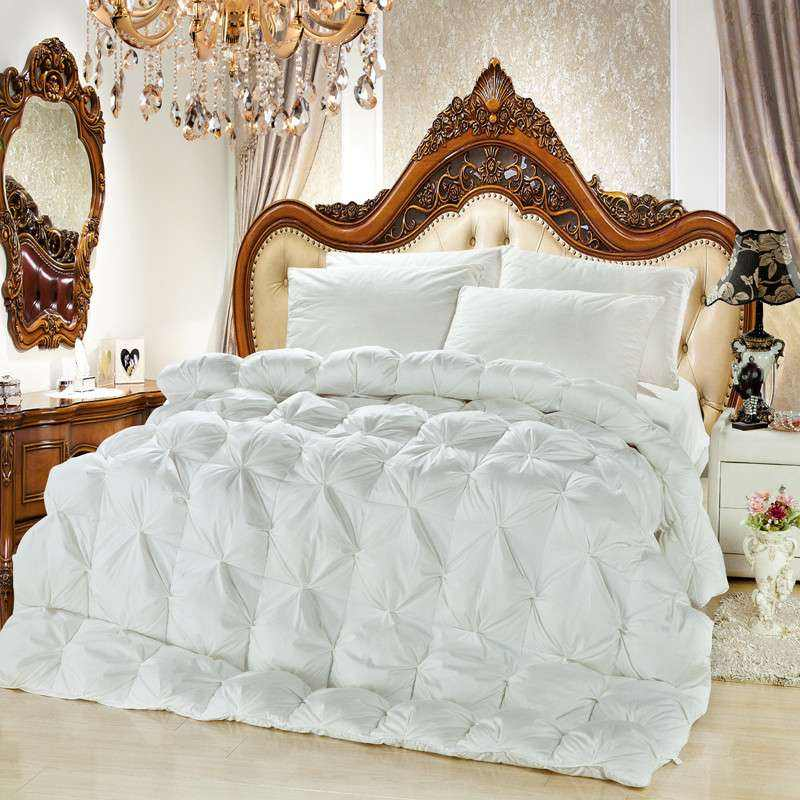 100% Polyester Down Feather Quilt / Duvet / Comforter Single or Twin Size