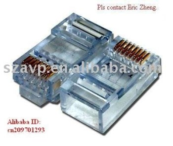Cat 6 FTP Modular Plug(rj45 connector)cat5e cat6 cat7 UTP STP SFTP