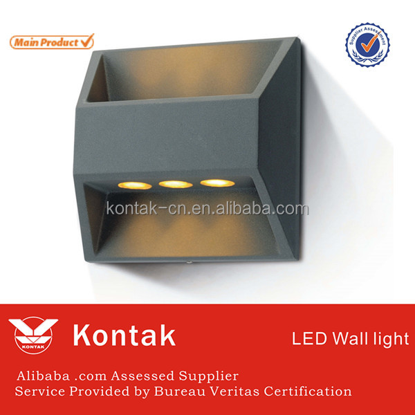 High quality modern design 6w led wall lamp with PC diffuser and ledlink lens