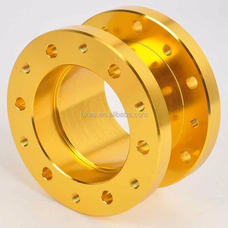 CNC Aluminium Car Steering Wheel Hub Boss Kit / Adapter Spacer