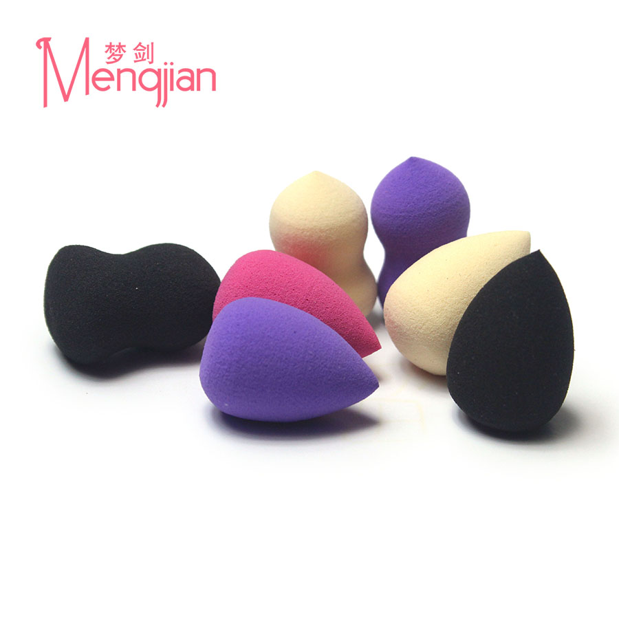 Non-latex soft and delicate elastic mini Eye shadow makeup puff 2cm*3cm