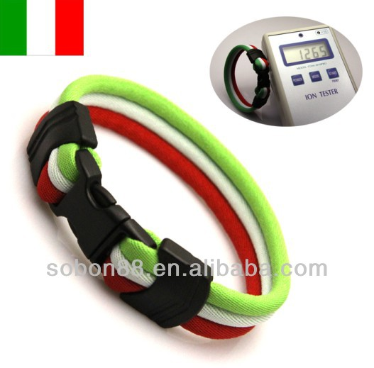 red white green flag bracelet italy flag bracelet