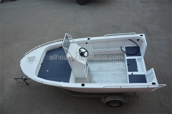 15ft 17ft deep v bottom aluminum fishing boat